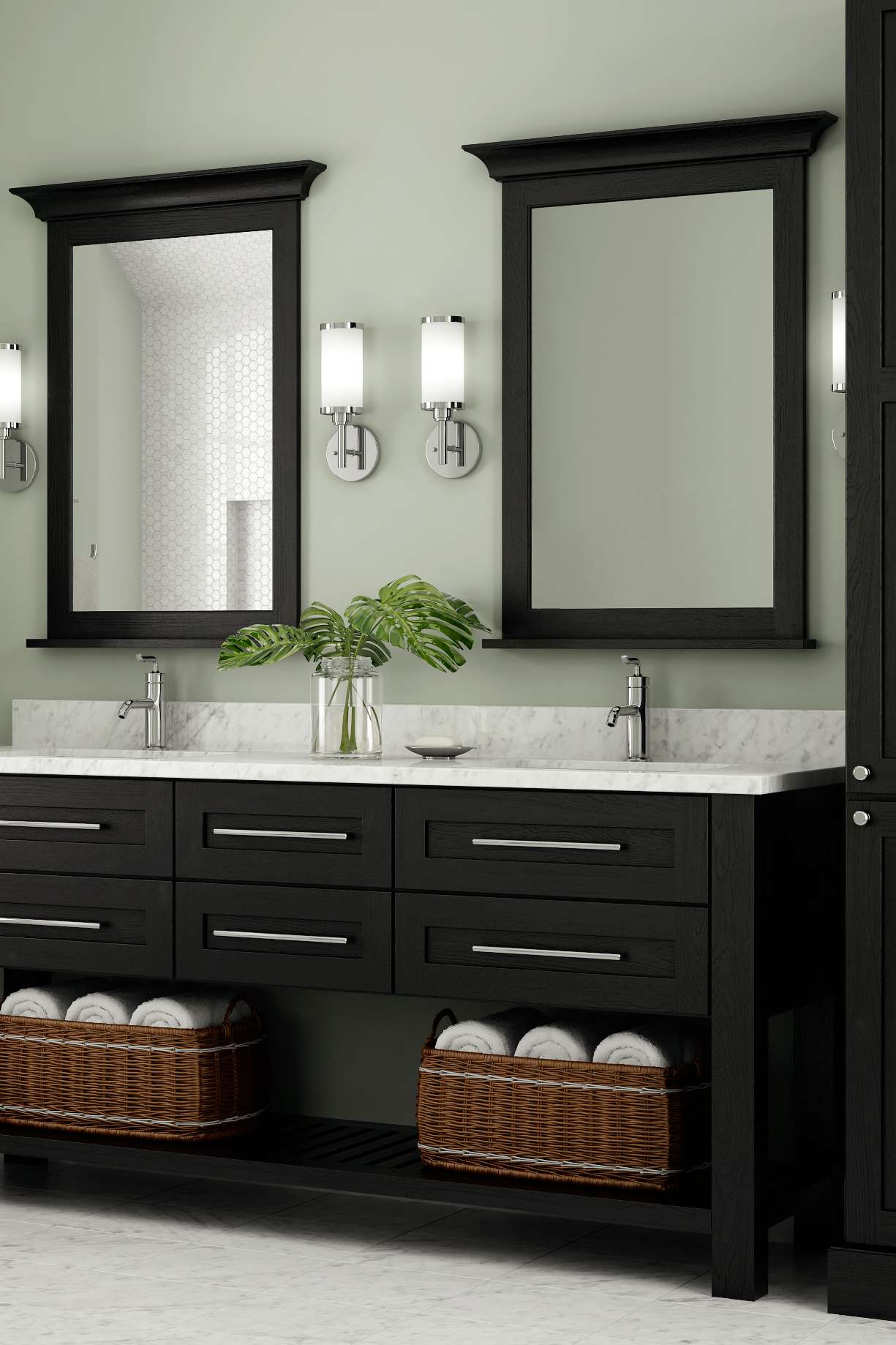 New Bathroom Cabinets Augusta